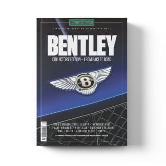Product image for Bentley - From Race to Road   Motor Sport   Collector's Edition Bookazine