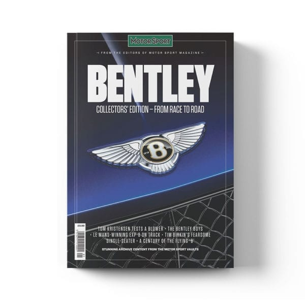 Bently bookazine