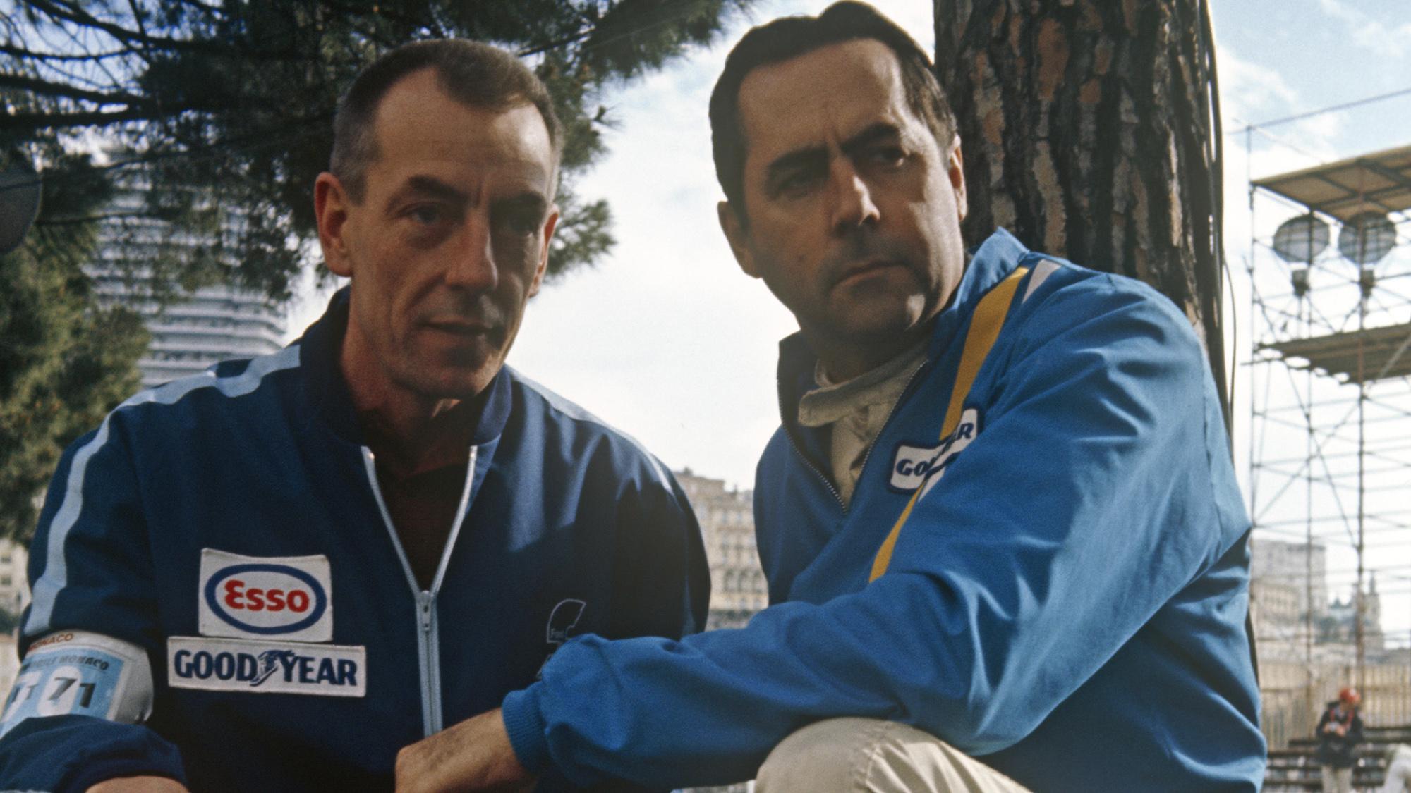 Ron Tauranac and Jack Brabham