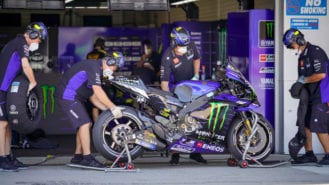 Yamaha's Alex Briggs: going MotoGP racing in a time of Covid