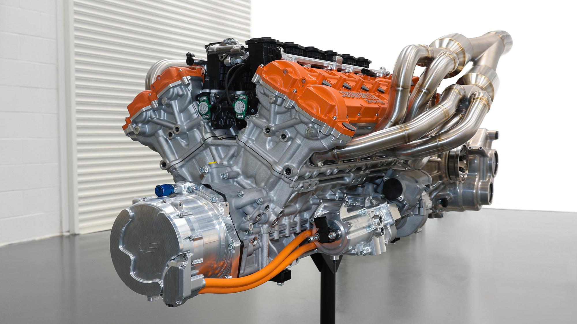 Gordon Murray T.50 Cosworth engine