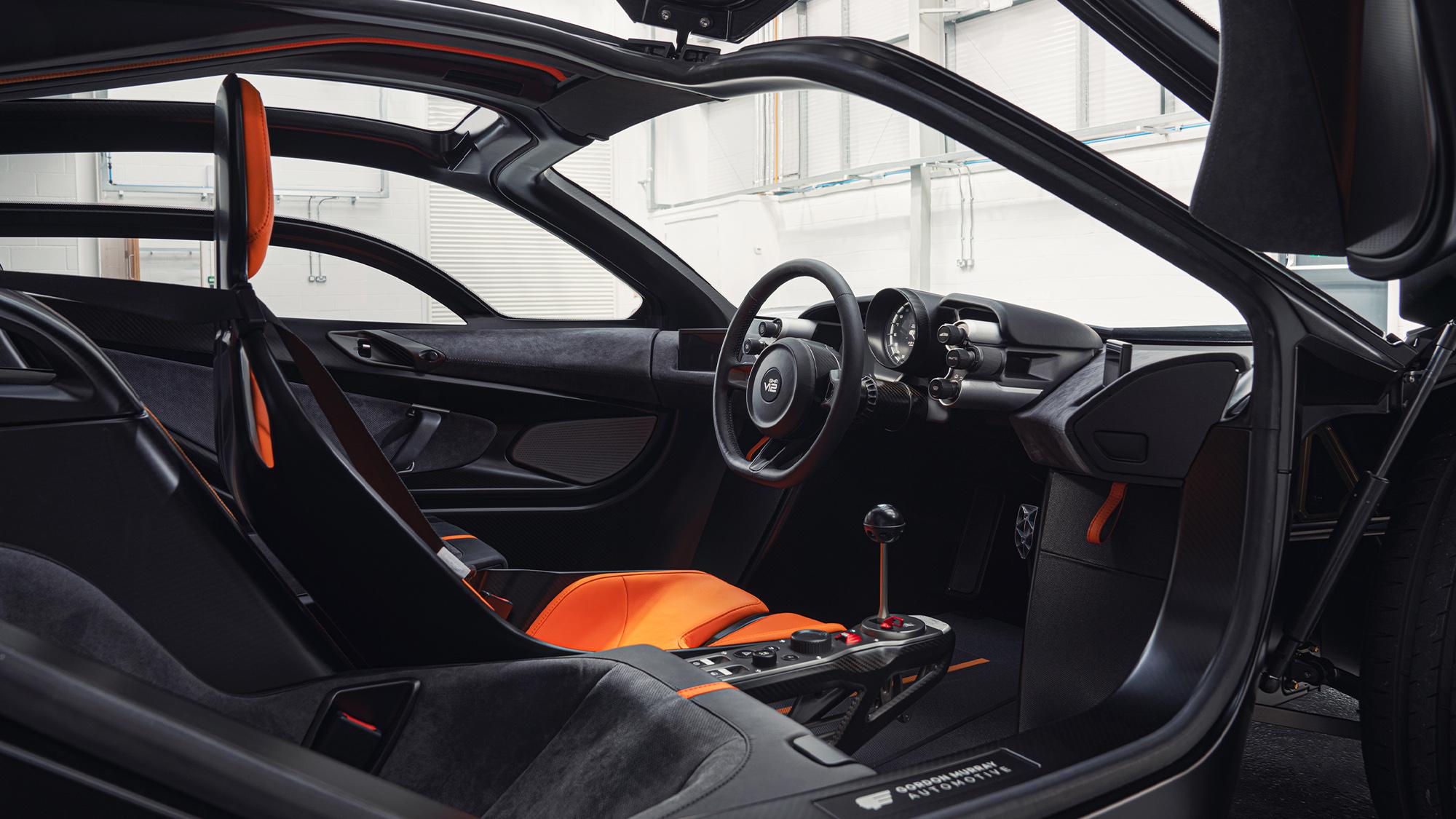 Gordon murray T50 interior