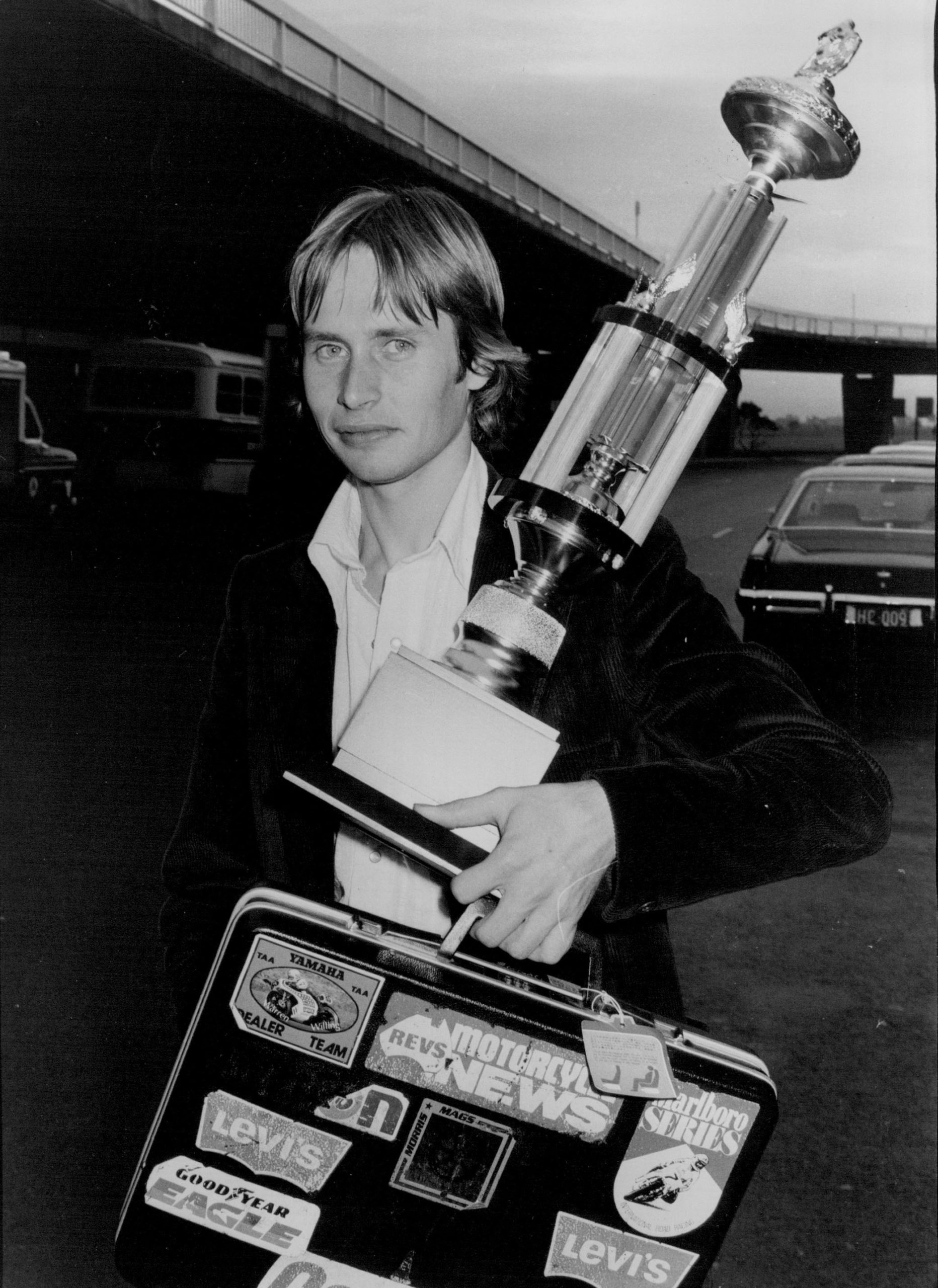 Warren-Willing-returns-to-Australia-after-a-motorcycle-race-in-Japan-May-1978