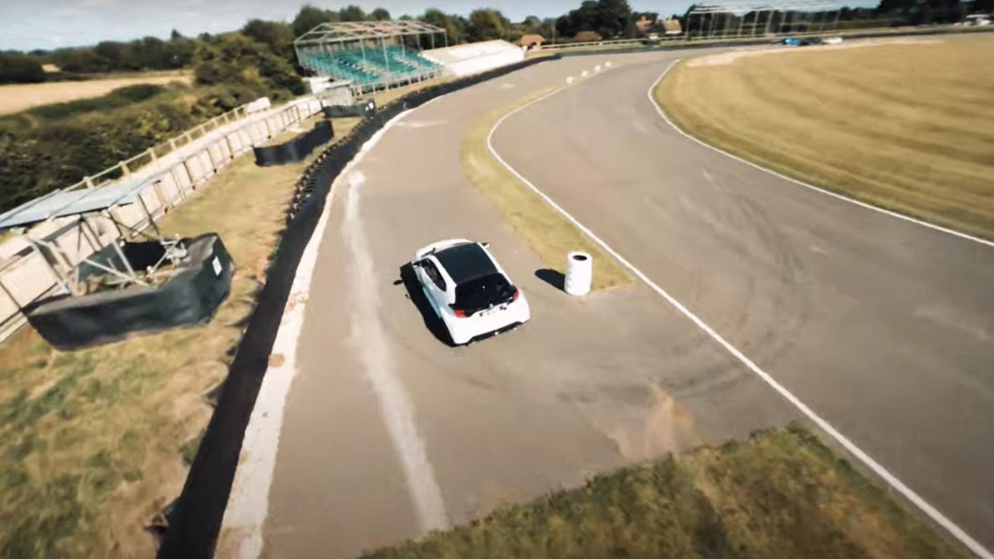 Goodwood Speedweek rally stage
