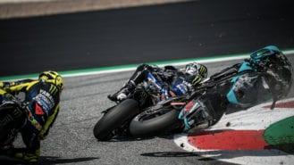 MotoGP Austria pile-up: Rossi — 'Everybody should say a prayer'