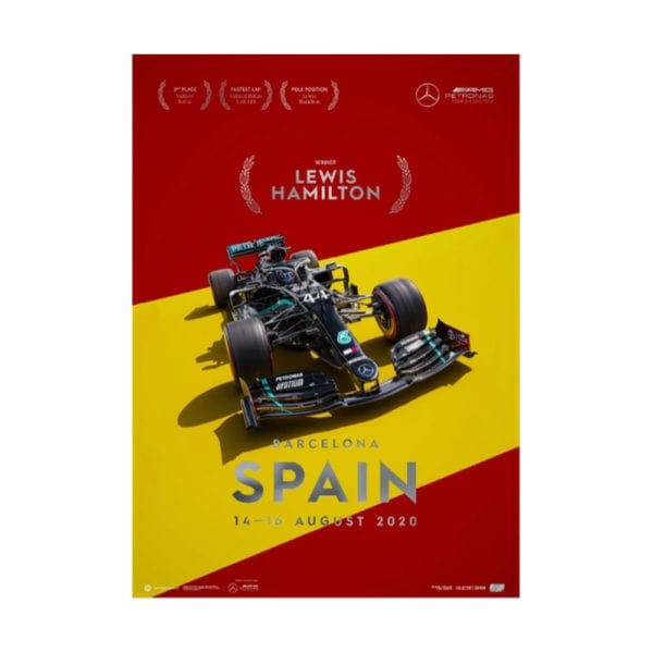 Spain Lewis Hamilton 2020 Win