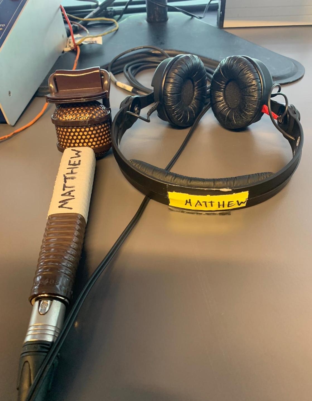 MotoGP commentary team equipment
