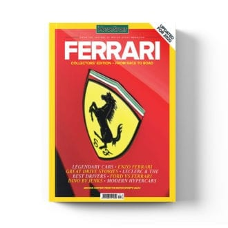 Product image for Ferrari - From Race to Road   Motor Sport Magazine   Collector's Edition Bookazine