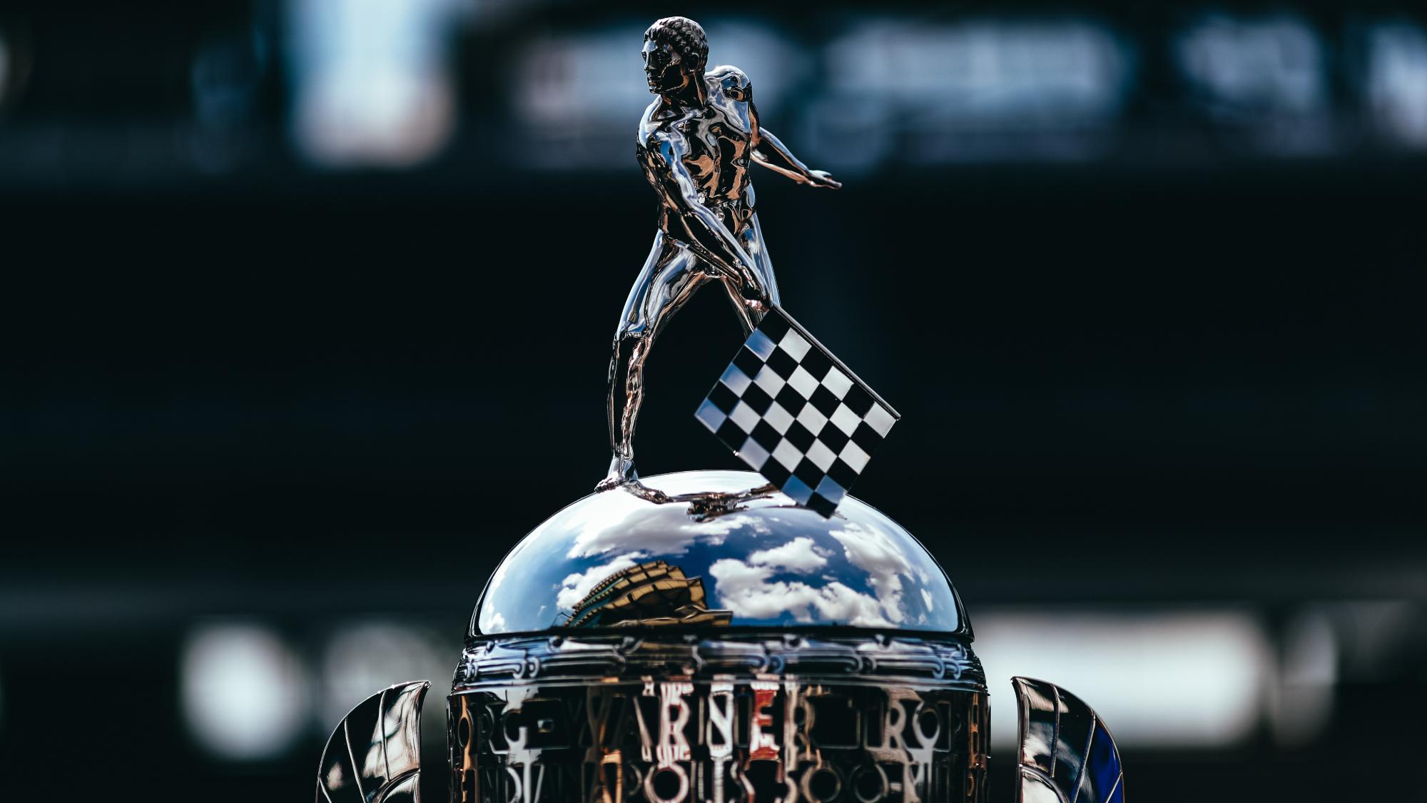 Indy 500 2020, Borg Warner Trophy