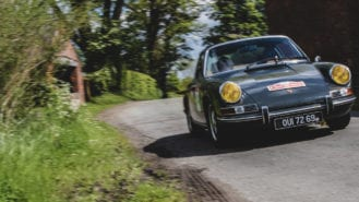 Classic cars put to the test as historic rallying returns to UK roads