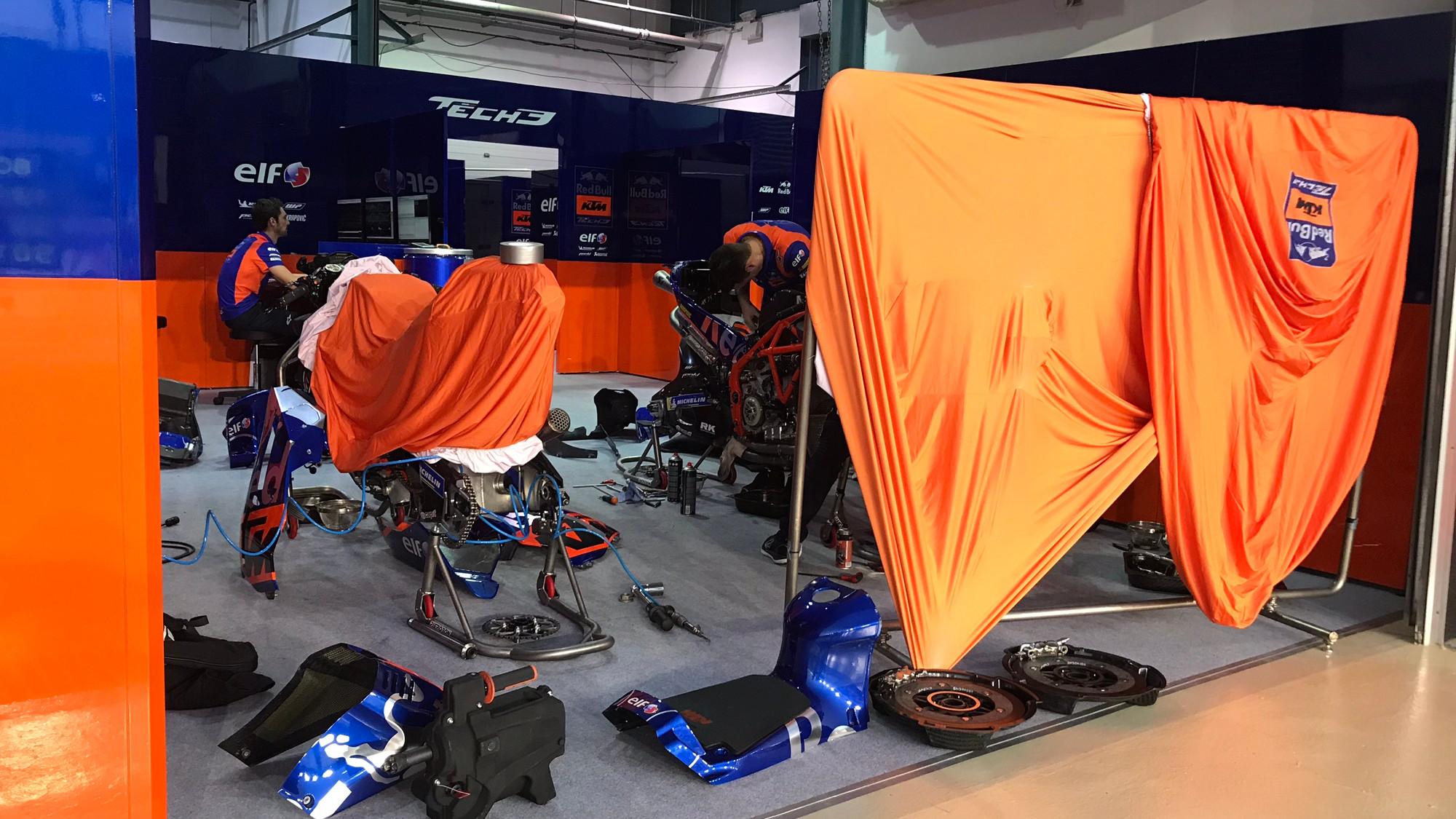KTM Tech 3 Garage