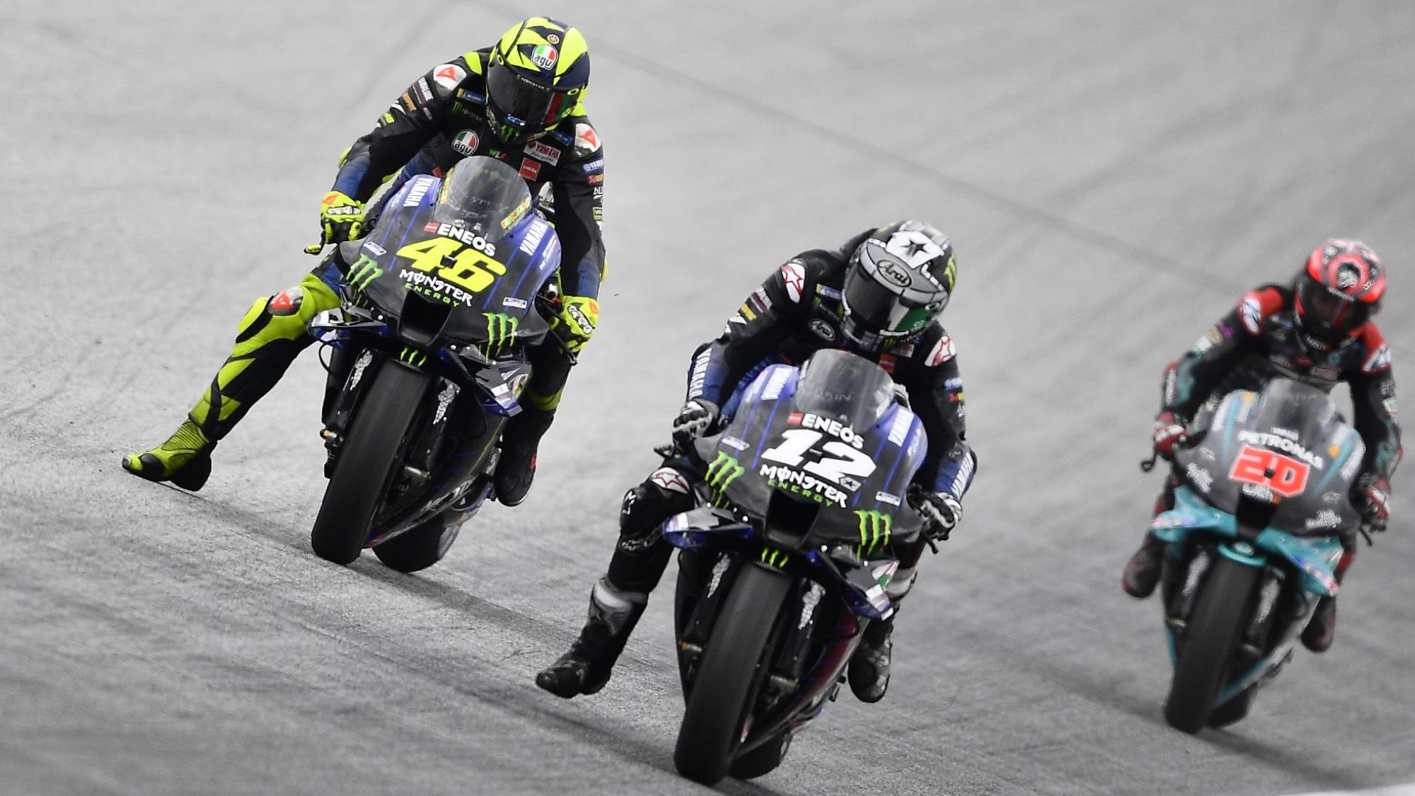Valentino Rossi, Maverick Vinales, Austria MotoGP 2020