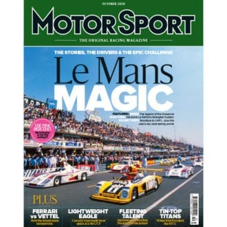 Product image for October 2020   Le Mans Magic   Motor Sport Magazine