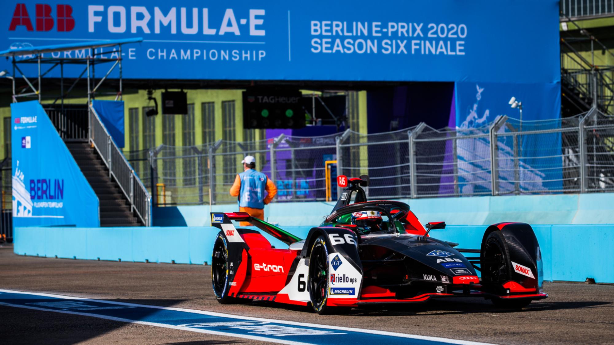 René Rast, Audi Formula E, 2020