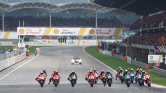 MotoGP is cage-fighting on gasoline