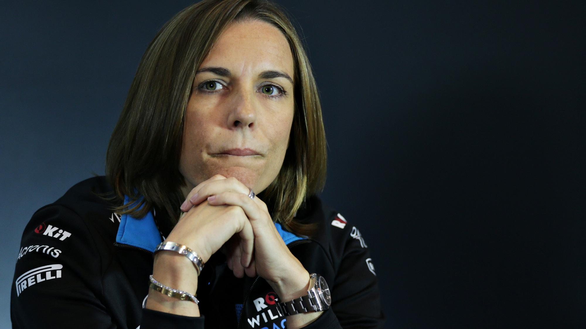 Claire Williams, Williams Racing 2020