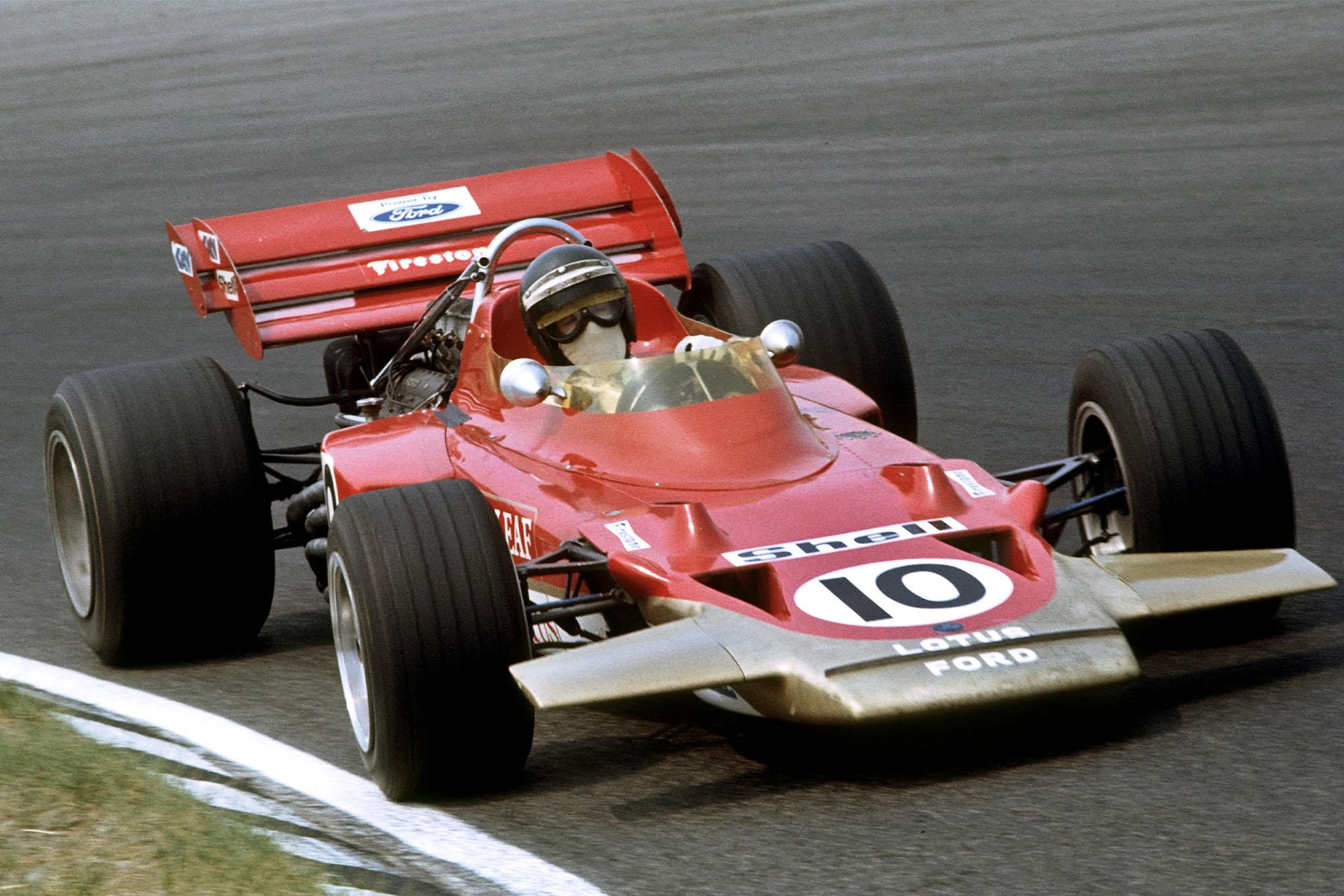 Jochen Rindt Lotus 72C Dutch Grand Prix 1970