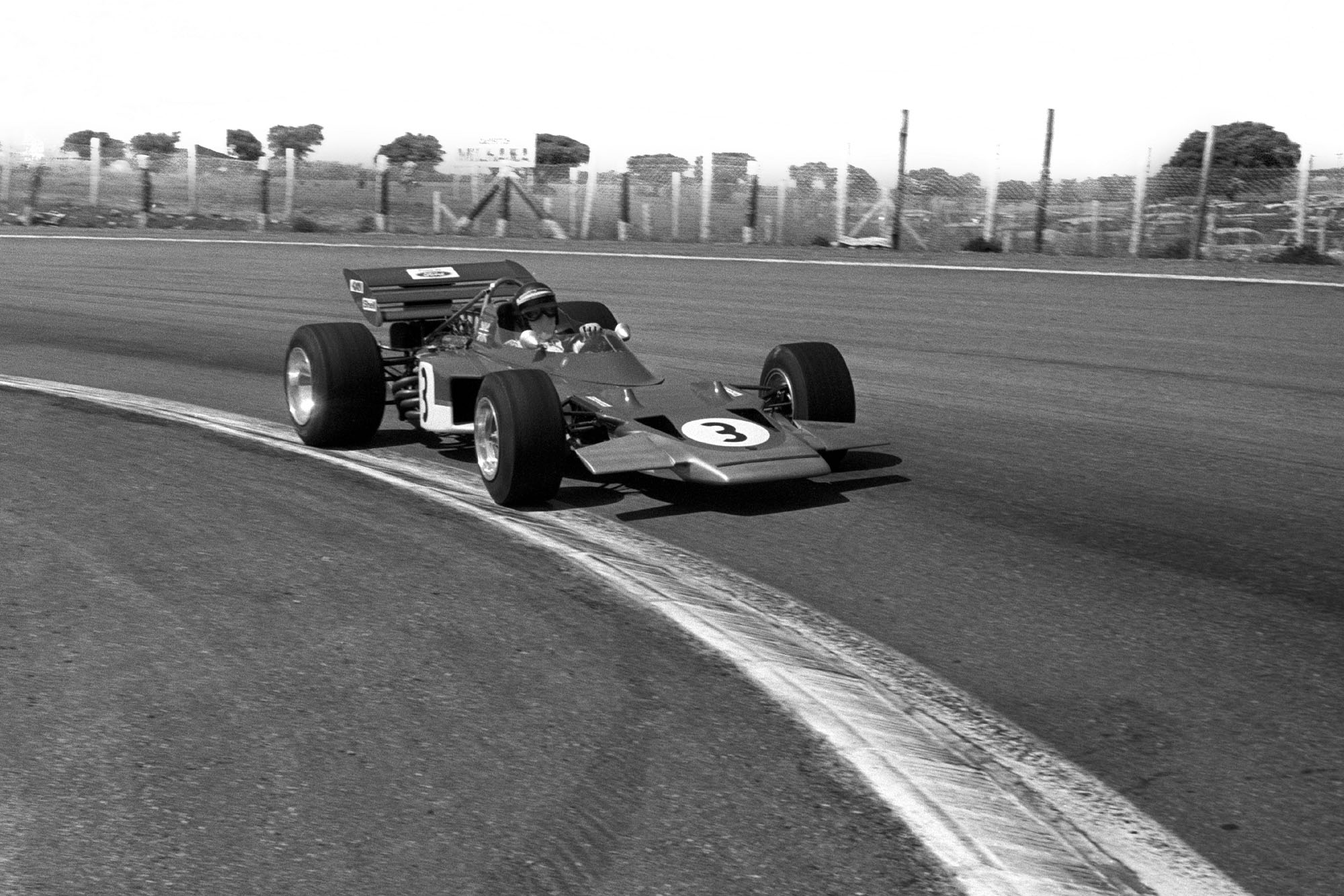 Jochen Rindt Lotus 1970 Spanish Grand Prix Jarama