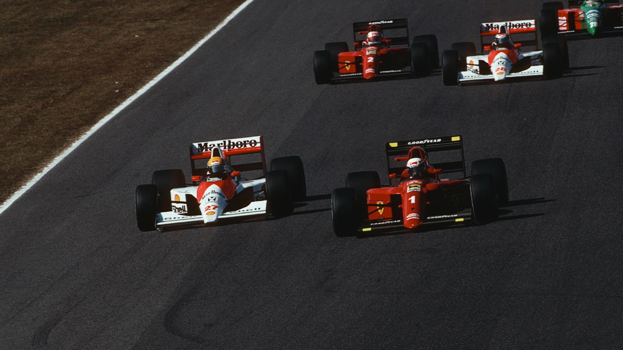 Alain Prost, Ayrton Senna 1990 Japanese GP