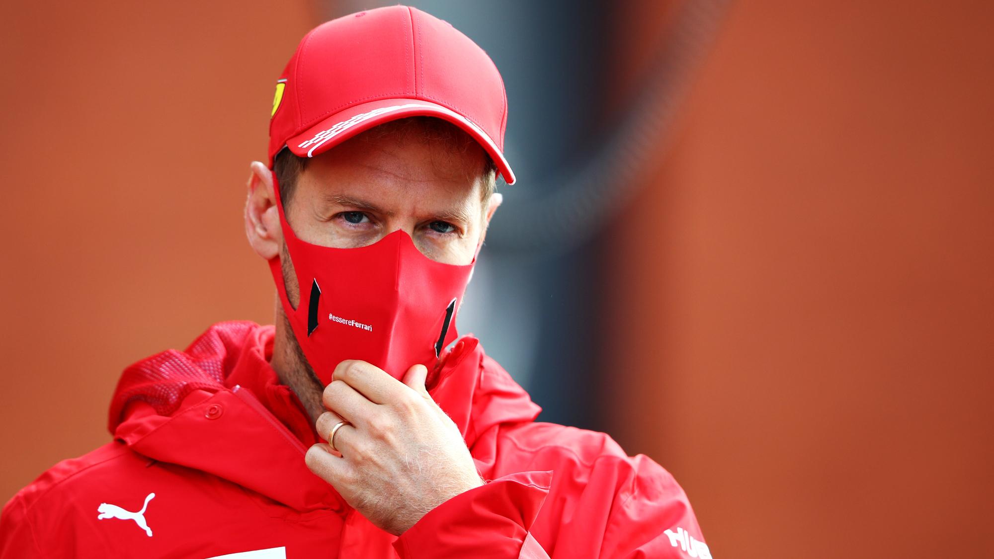 Sebastian Vettel, Belgian GP 2020