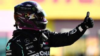 2020 F1 Tuscan Grand Prix qualifying: Hamilton beats Bottas to pole
