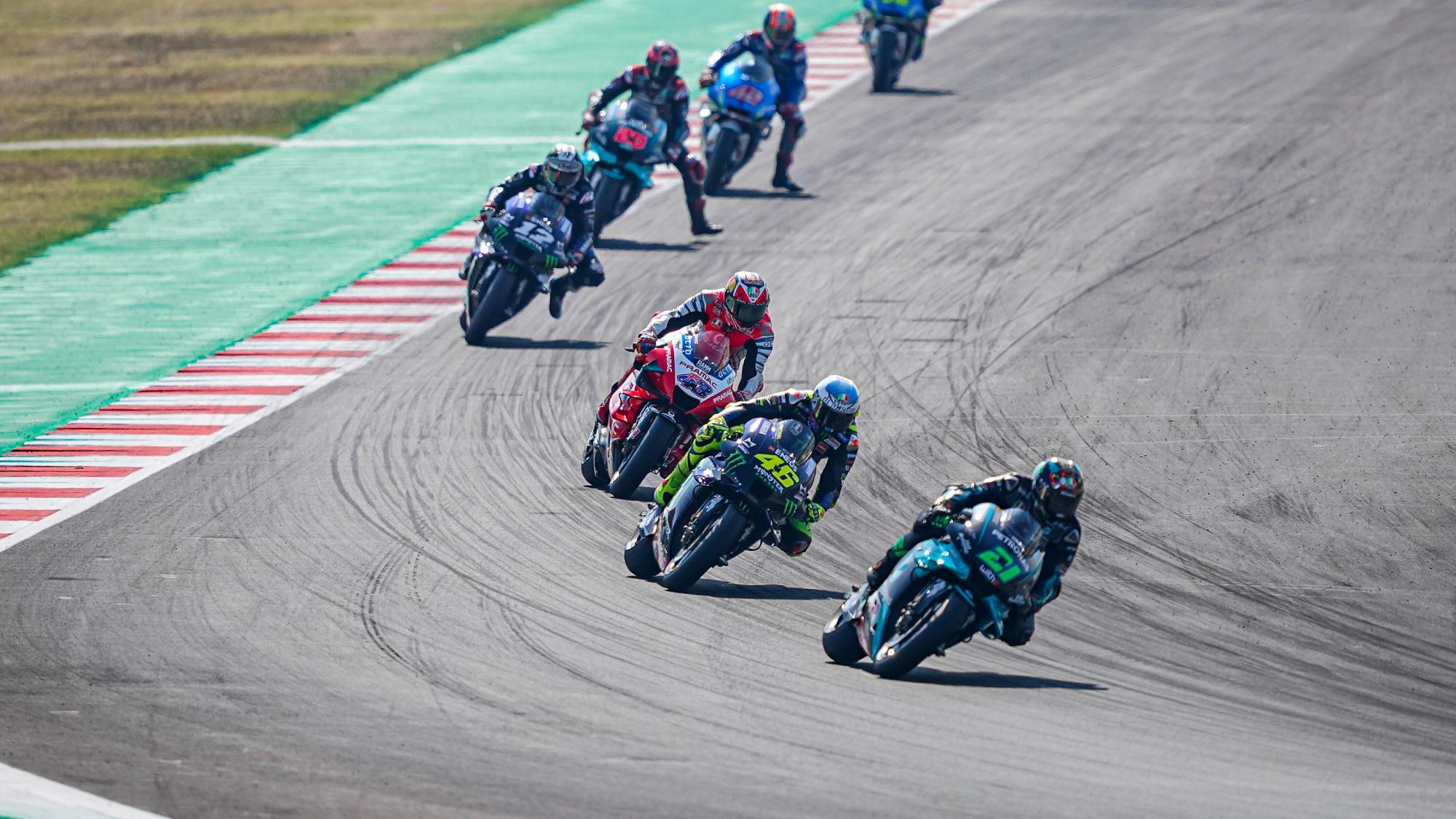 Yamaha, Suzuki, Ducati, Misano 2020 MotoGP