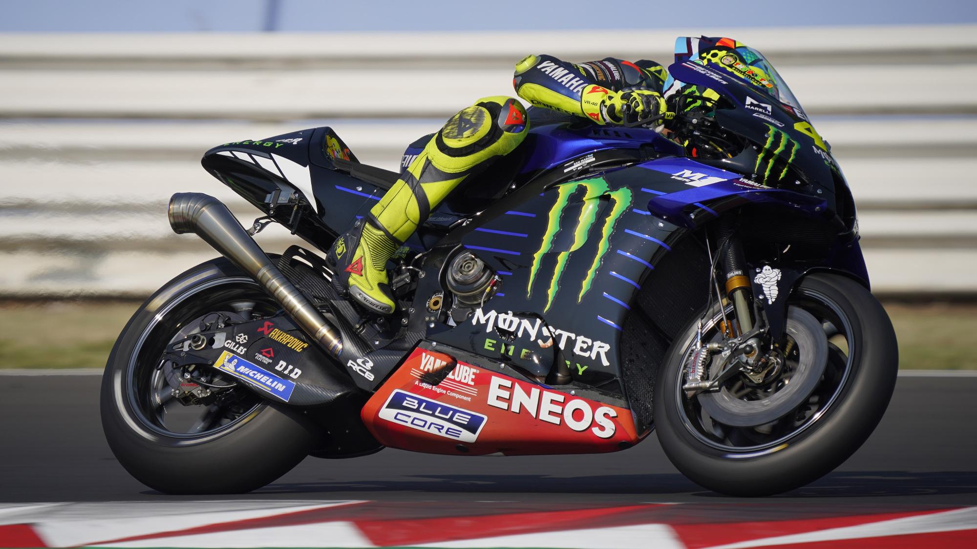 Valentino Rossi, Misano test 2020