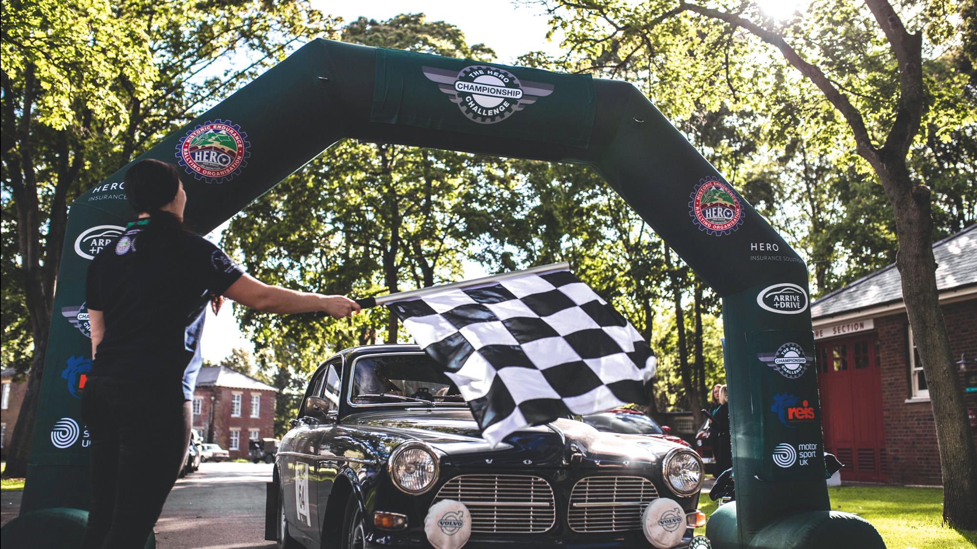 Volvo starts HERO Challenge historic rally event