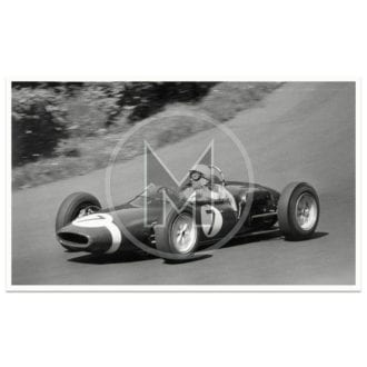 Product image for 1961 German Grand Prix | Stirling Moss | Lotus 18/21 | Photograph