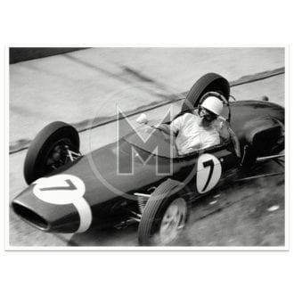 Product image for 1961 German Grand Prix | Stirling Moss | Lotus 18/21 | Karussell | Photograph