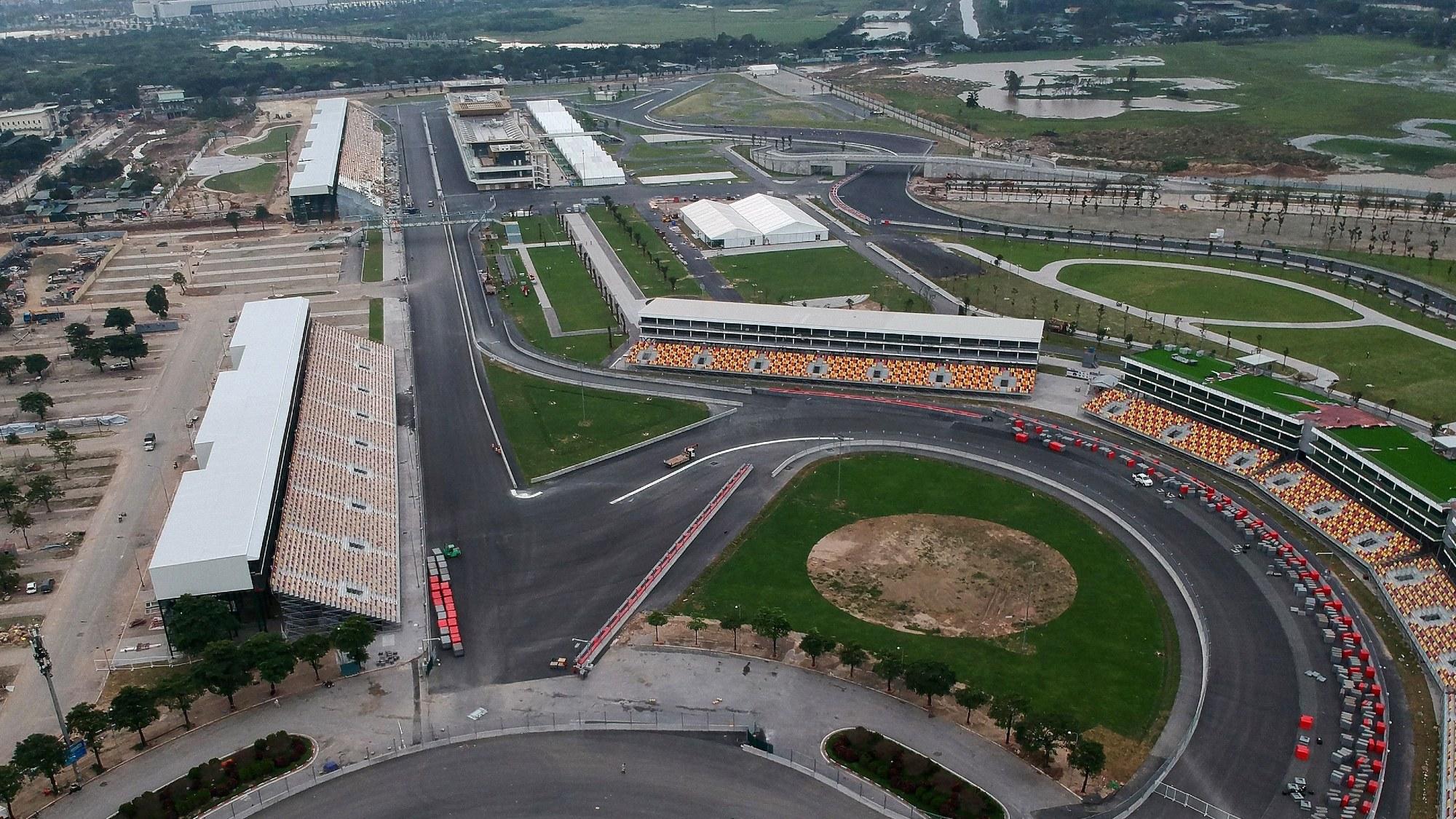 Formula 1 Vietnam GP circuit, Hanoi