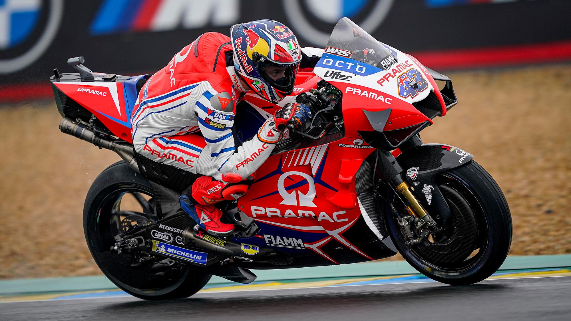 Jack Miller at Le Mans in the 2020 MotoGP French Grand Prix
