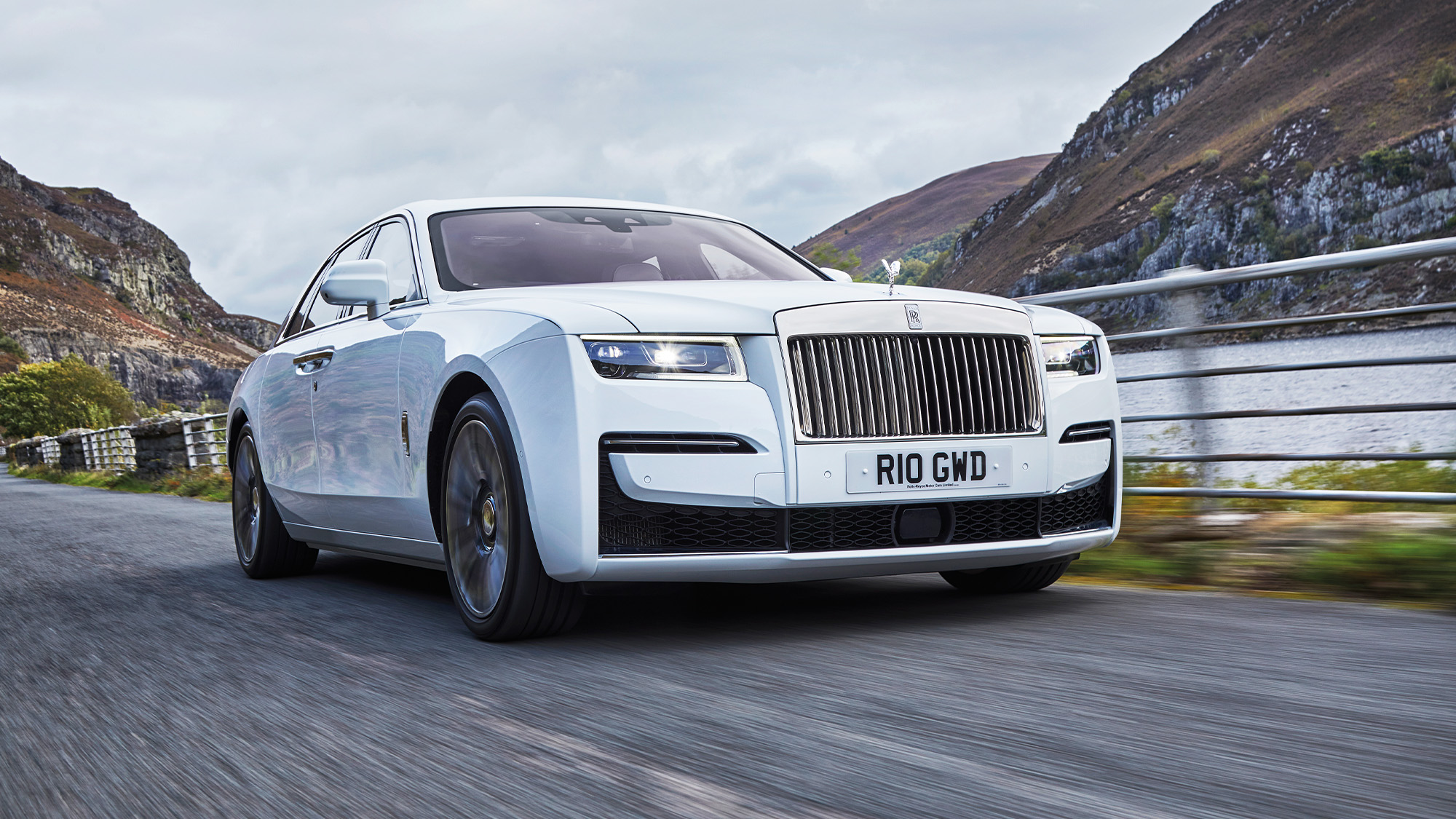 2020 Rolls Royce Ghost front