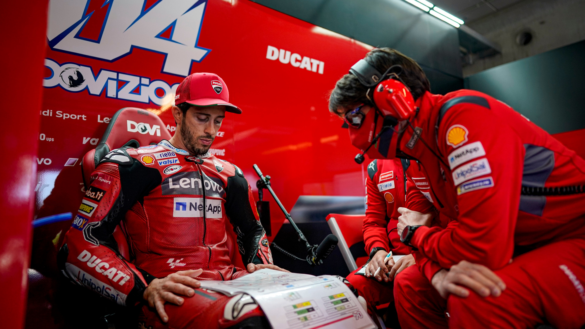 Andrea Dovizioso, Ducati 2020