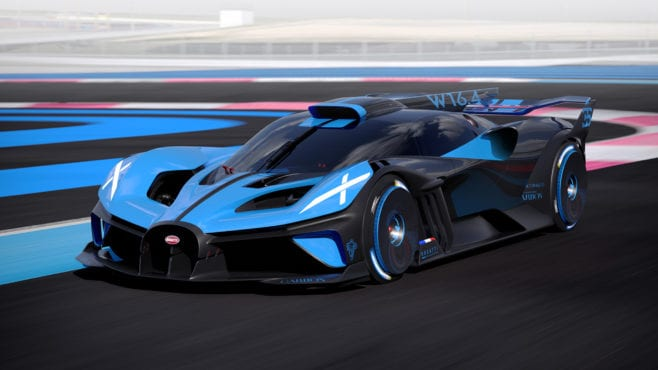 Fastest car around Le Mans (in theory), but Bugatti Bolide isn't that impressive