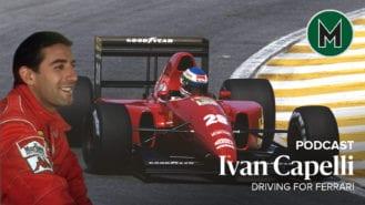 Podcast: Ivan Capelli, Driving for Ferrari