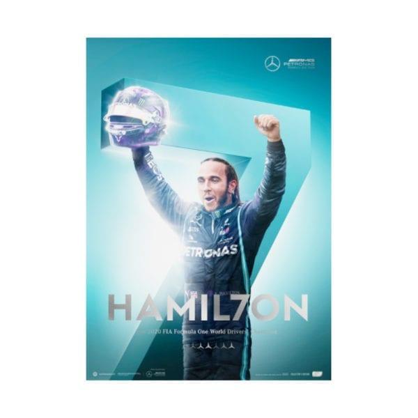 Lewis Hamilton 7 Time champion