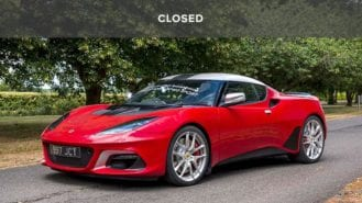 Win a one-off Jim Clark Lotus Evora signed by the 2019 F1 grid