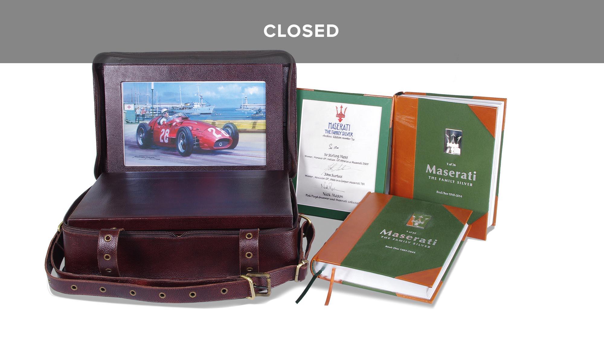 Maserati closed