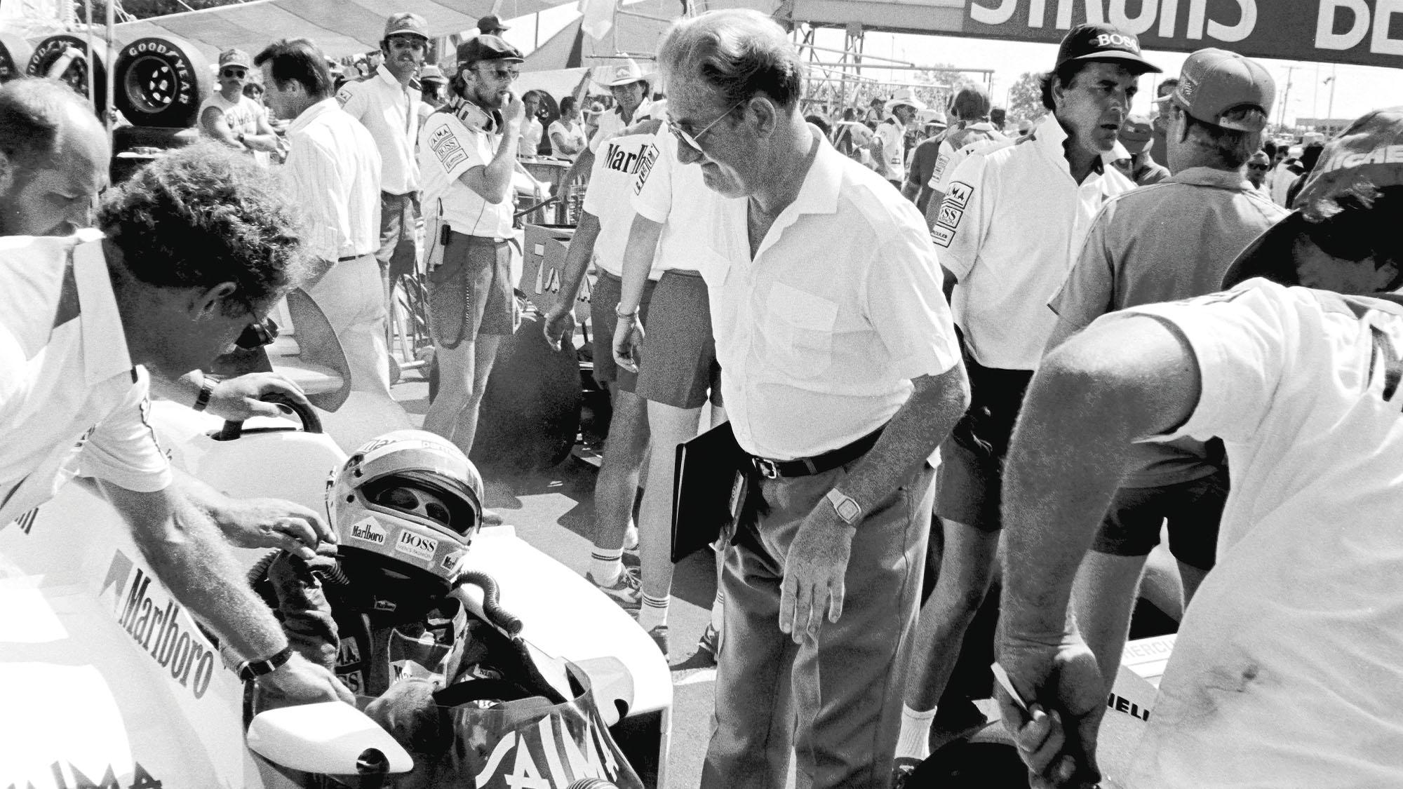 1984 Dallas GP Niki Lauda