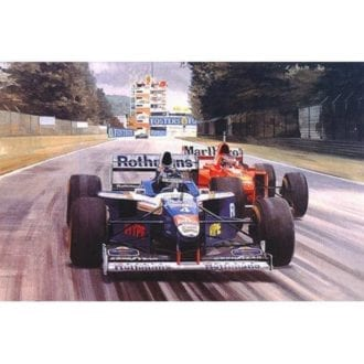 Product image for Frentzen's First  Graham Turner   Signed   Limited Edition Print