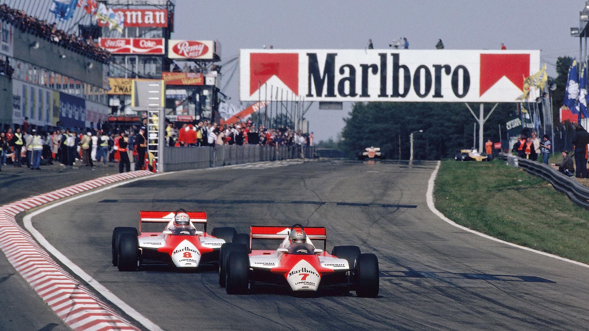 John Watson Niki Lauda McLaren Zolder Belgian GP 1982