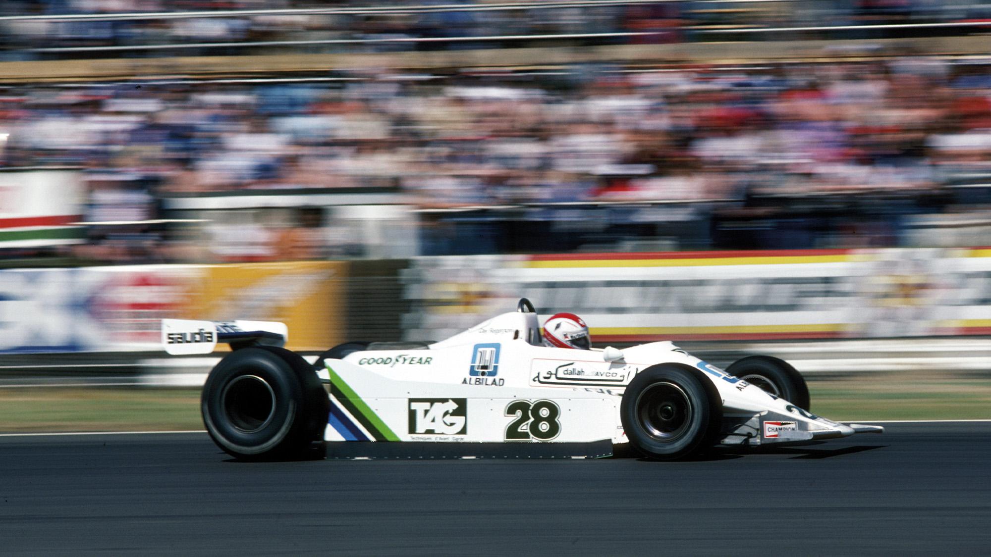 Formel 1, Grand Prix England 1979, Silverstone, 14.07.1979 Clay Regazzoni, Williams-Ford FW07 www.hoch-zwei.net , copyright: HOCH ZWEI / Ronco (Photo by Hoch Zwei/Corbis via Getty Images)