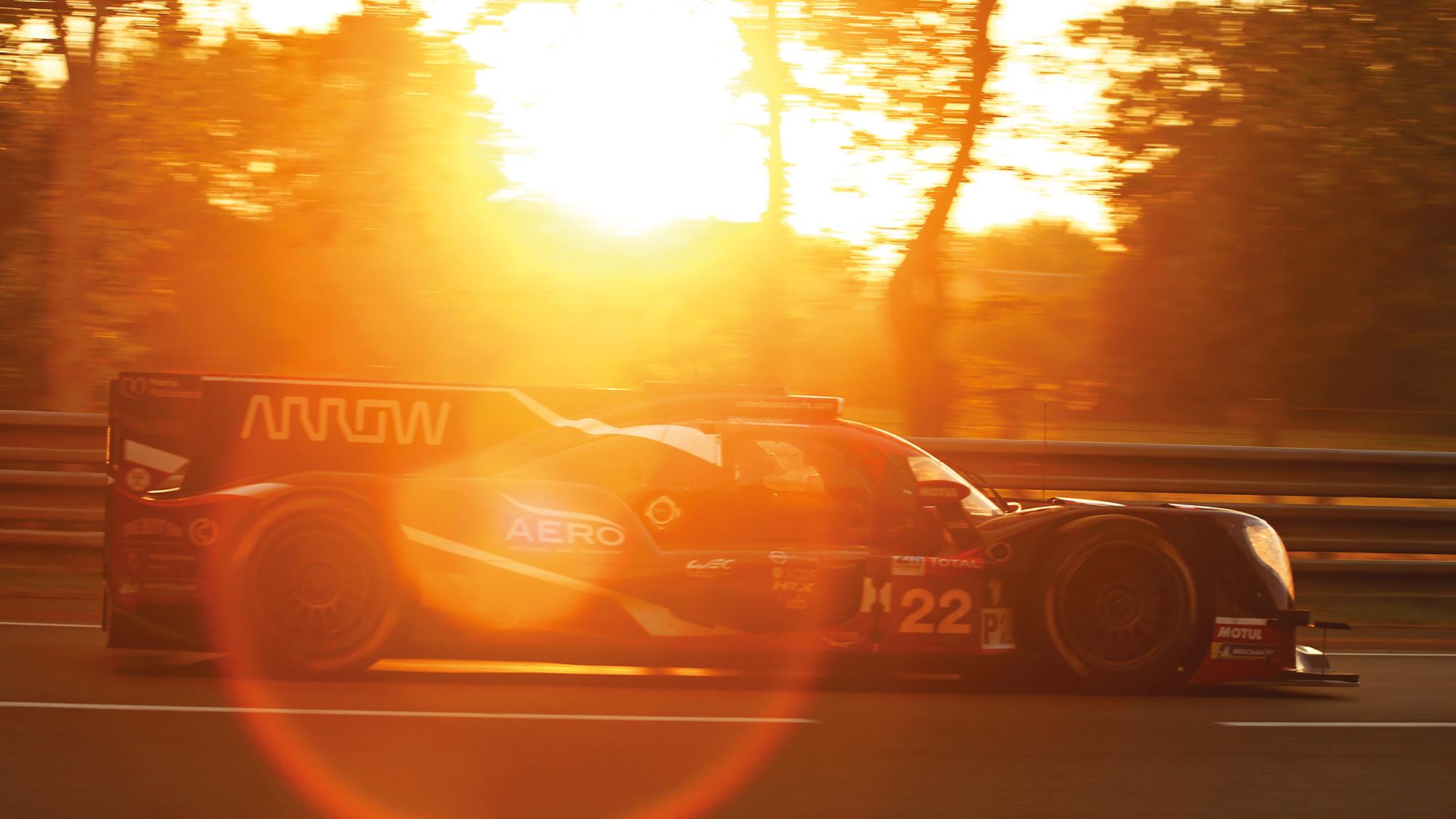 vUnited Autosports LMP2 car at Le Mans