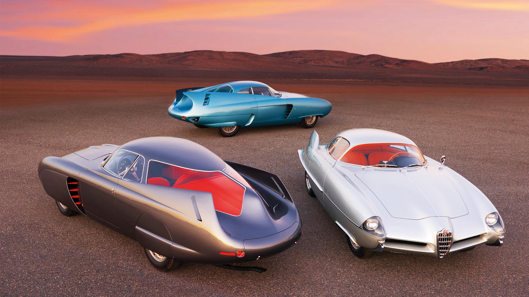Alfa Romeo Bat concepts