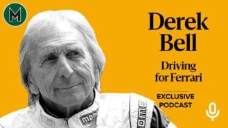 Podcast: Derek Bell, Driving for Ferrari