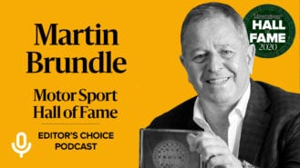 Podcast: Martin Brundle inducted into Hall of Fame