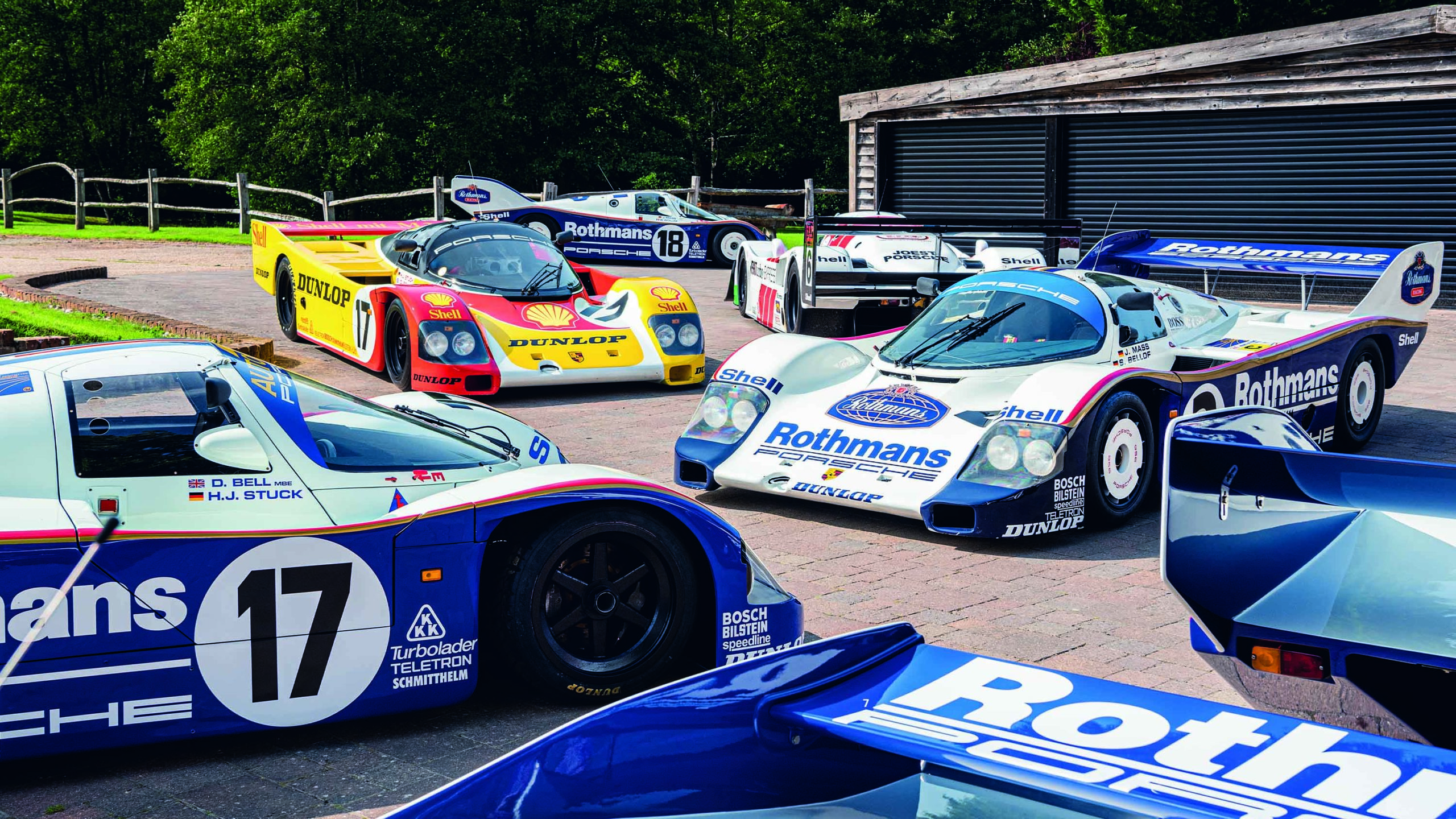 Group C Porsche Pearman Collection