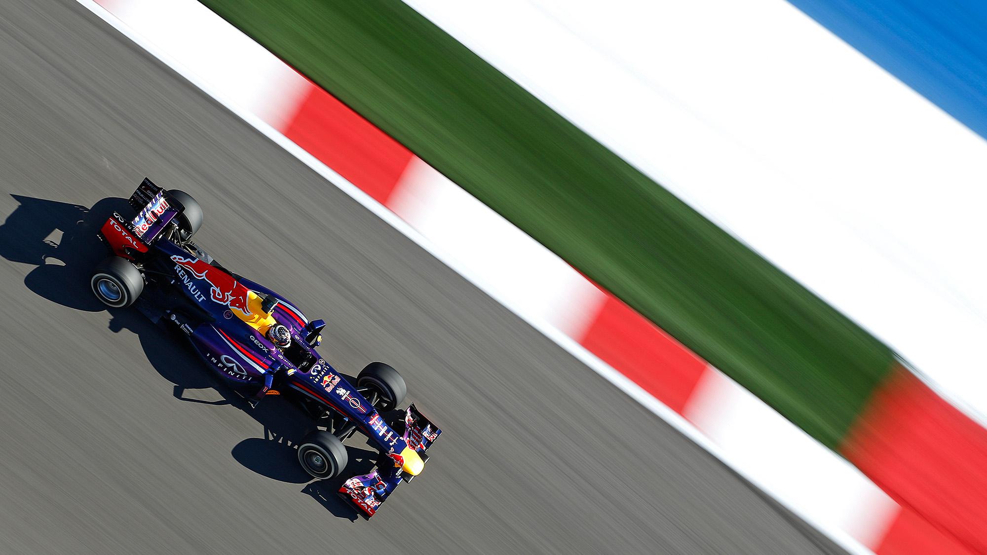 Sebastian Vettel 2013 Red Bull RB9