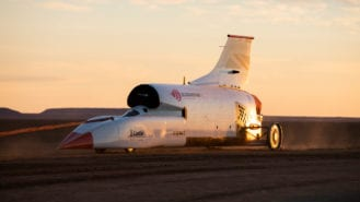 Bloodhound LSR project on hold until 2022